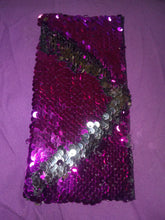 Purple\Pink Mermaid Reversible Sequins Wonder Wallets & Server Books