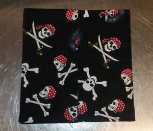 Pirate Skulls Wonder Wallets & Server Books