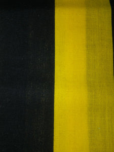 Black & Yellow Stripe Wonder Wallets & Server Books