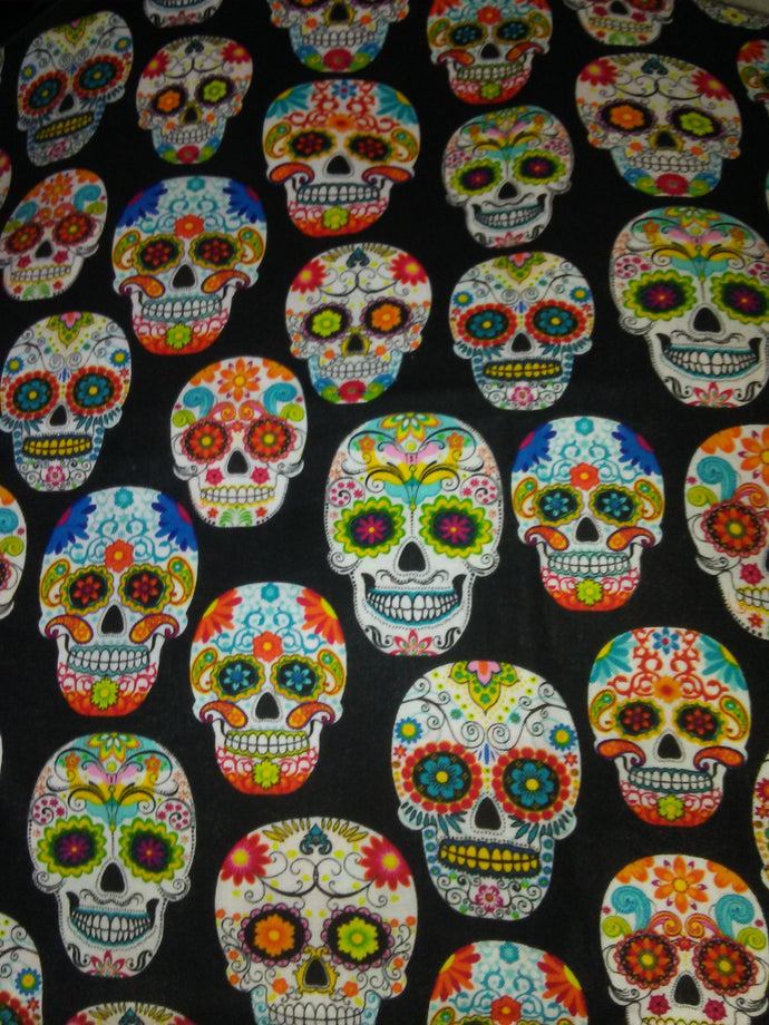 Sugar Skull on Black. #2 Wonder Wallets & Server Books