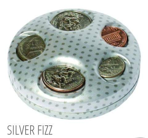 Silver Fizz Coin Dispenser