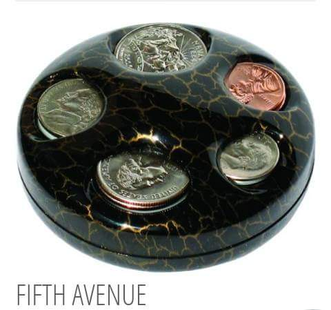 Fifth Avenue Coin Dispenser