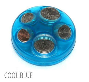 Cool Blue Coin Dispenser