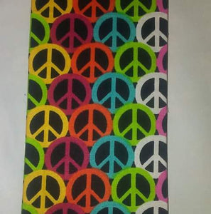 Bold Peace Sign Wonder Wallets & Server Books