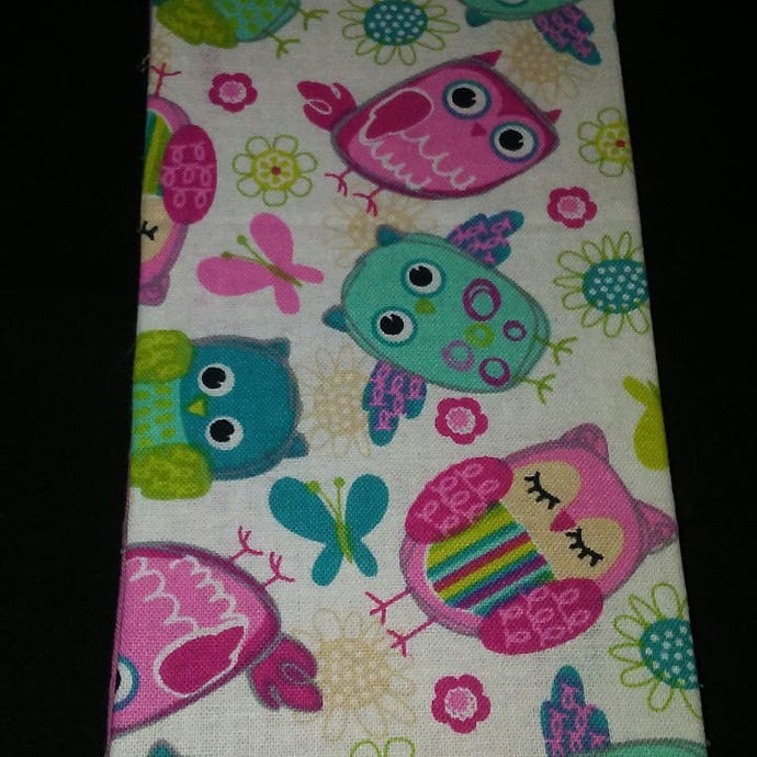 Colorful Owls Wonder Wallets & Server Books