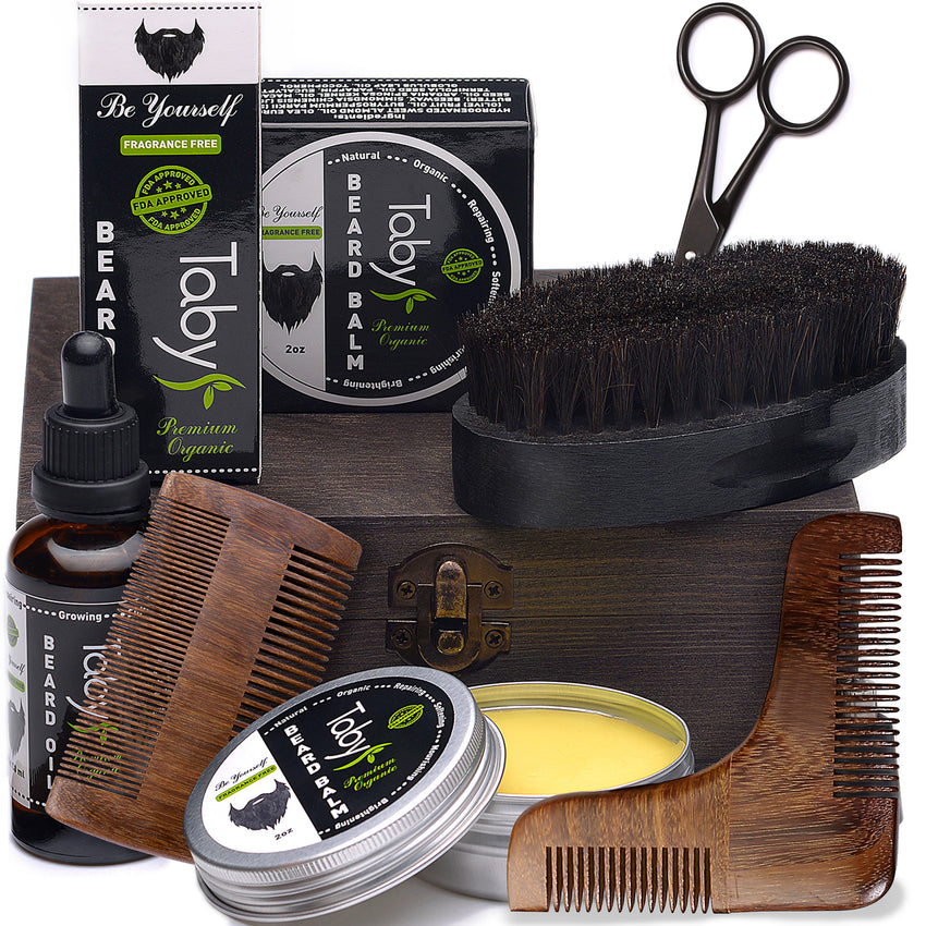 Beard Kit for Grooming & Trimming for Men