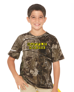 Youth Realtree Camo short sleeve tee