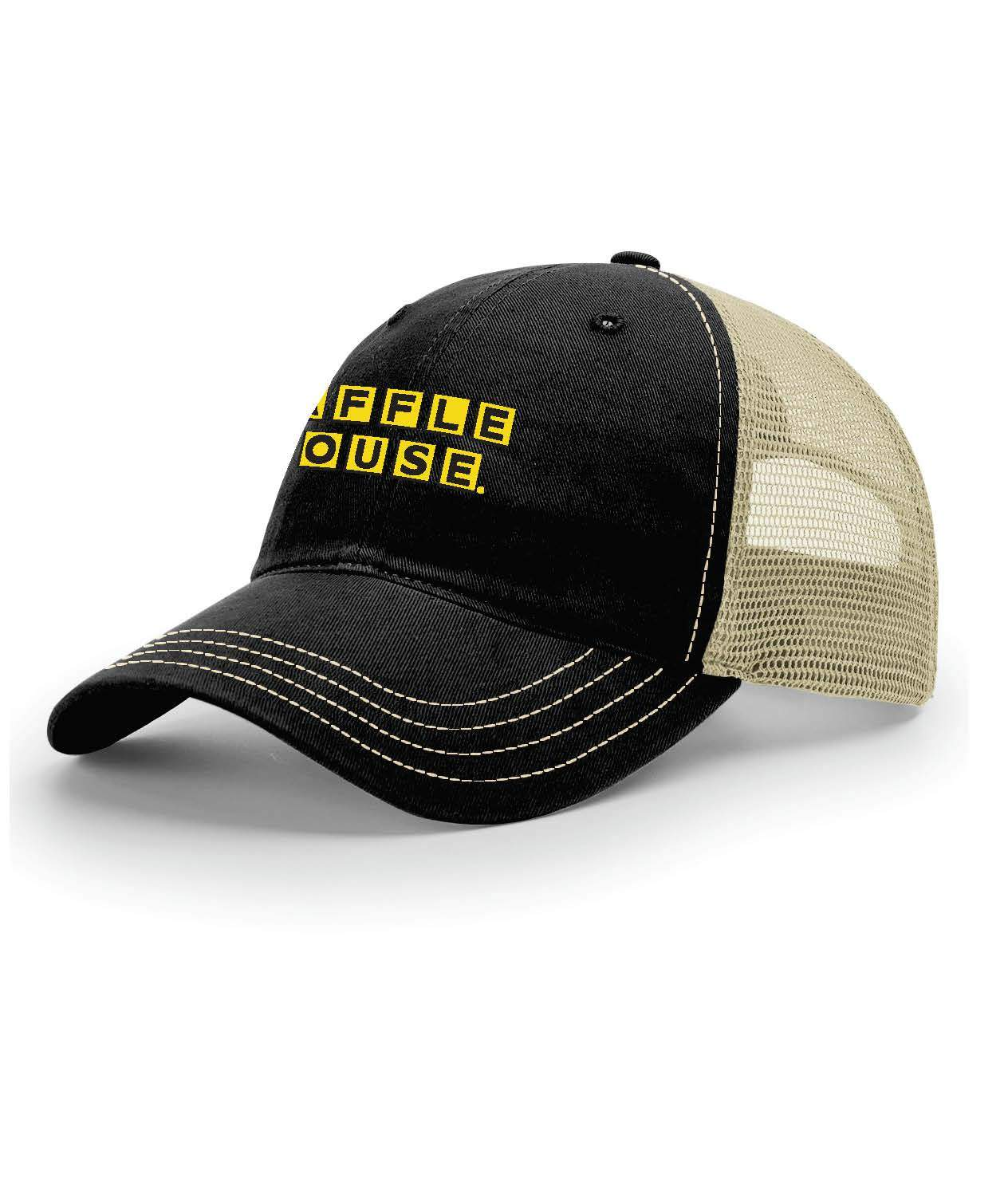 Garment Washed Trucker Cap