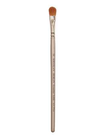Kryolan Professional Filbert Brushes