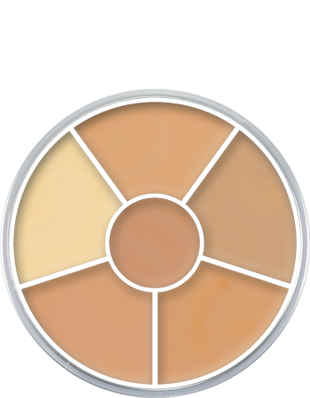 Concealer Wheel 6 Colour