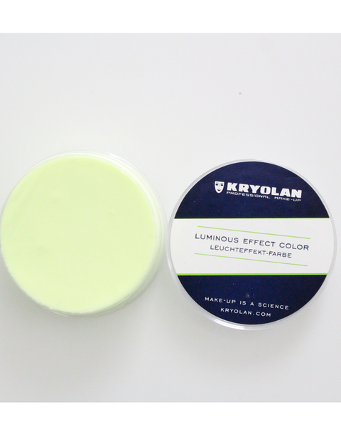 Kryolan Green Phosphorescent Cream