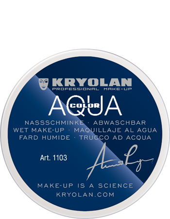 Kryolan Aquacolor White 55ml