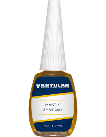 Small bottle of Spirit Gum Adhesive with brush.