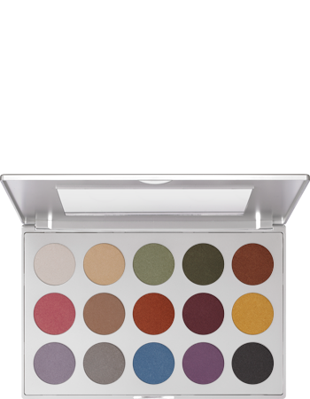 Kryolan Eye Shadow Custom 15 Colour Palette