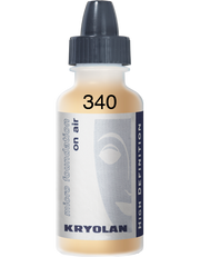 Kryolan HD Micro Foundation on Air