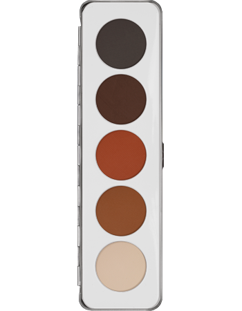 Kryolan Custom Eye Shadow 5 Colour Palette