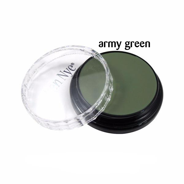 Ben Nye Creme Colors for Face and Body Painting in  Army Green