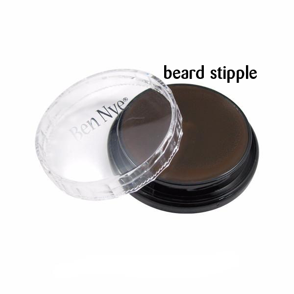 Ben Nye Creme Colors for Face and Body Painting in Beard Stipple