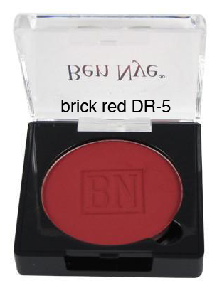 Ben Nye Dry Rouge and Contour in Brick Red