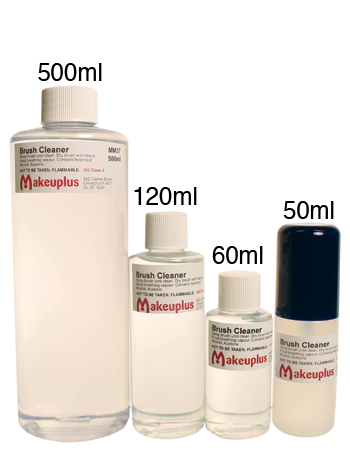 Comparison of the different sizes of makeup brush cleaner available.