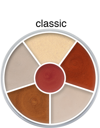 Kryolan Cream Colour Interferenz Wheels
