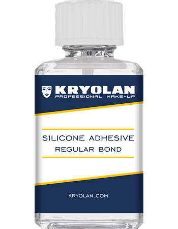 Silicone adhesive for special effects prosthetics