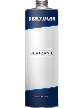 Tin of Glatzan L for bal cap creation for SFX makeup