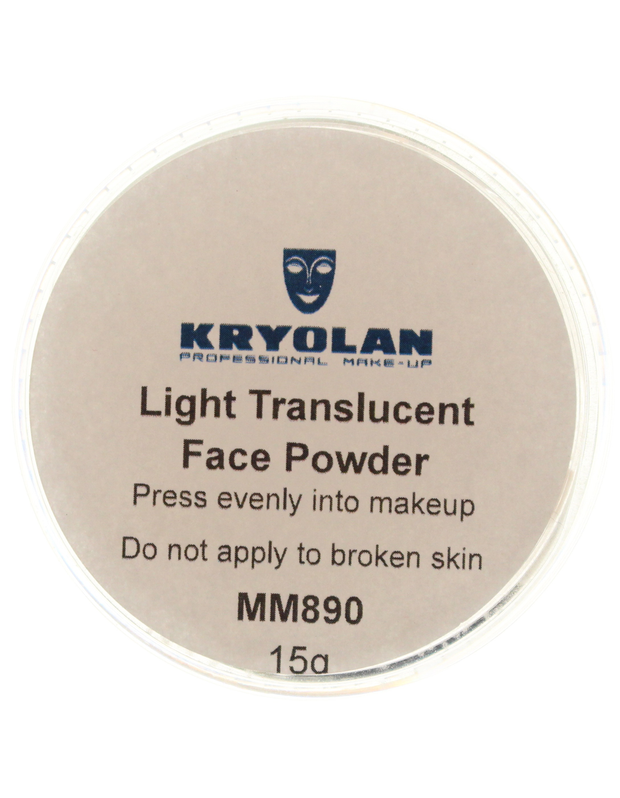 Kryolan 15g Translucent Powder