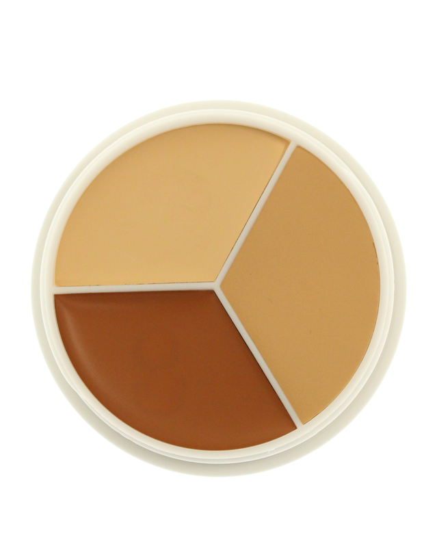 Kryolan Ultra Foundation Contour Trios