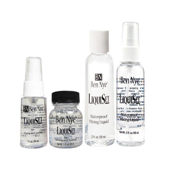 The different sizes of liquiset available.