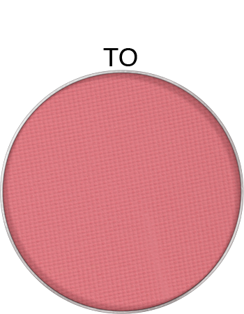 Kryolan powder blusher refill for palette and compact in TO