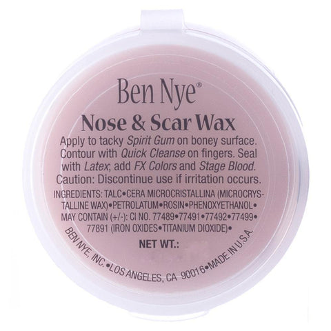 Ben Nye Carded Nose & Scar Wax Flesh