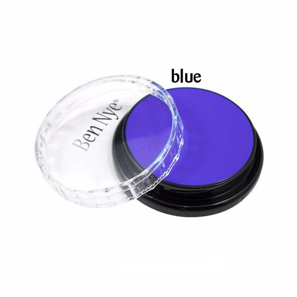 Ben Nye Creme Colors for Face and Body Painting in Blue