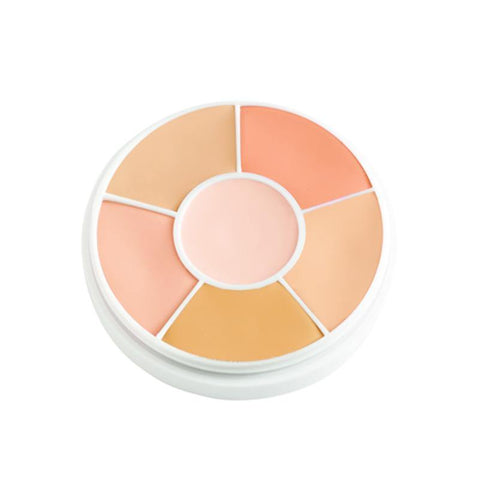 Concaler wheel for medium or tan complexions