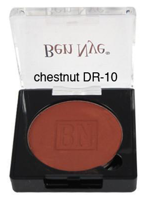 Ben Nye Dry Rouge and Contour in Chestnut