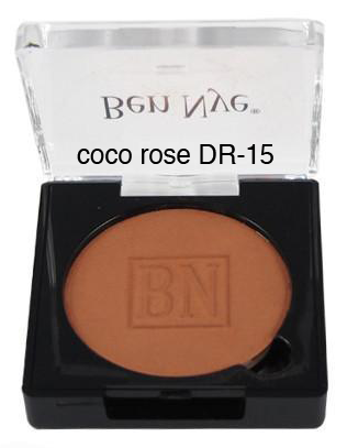 Ben Nye Dry Rouge and Contour in Coco Rose
