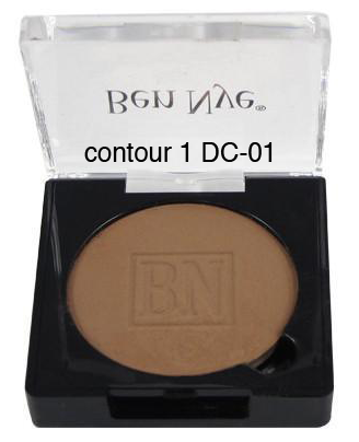 Ben Nye Dry Rouge and Contour in Contour 1