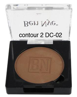 Ben Nye Dry Rouge and Contour in Contour 2