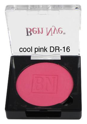 Ben Nye Dry Rouge and Contour in Cool Pink