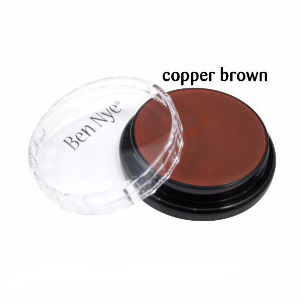 Ben Nye Creme Colors for Face and Body Painting in Copper Brown