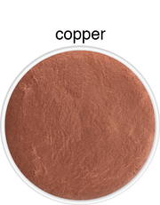 Supracolour metallic face and body paint in Copper