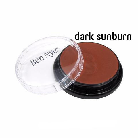 Ben Nye Creme Colors for Face and Body Painting in Dark Sunburn