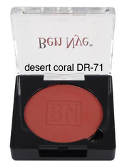 Ben Nye Dry Rouge and Contour in Desert Coral