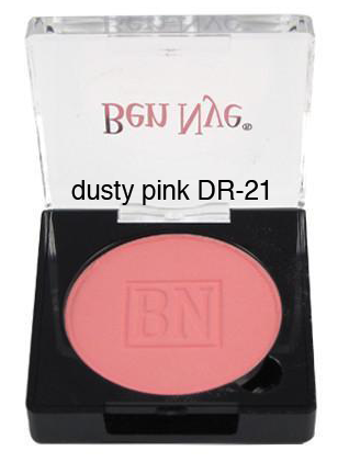 Ben Nye Dry Rouge and Contour in Dusty Pink
