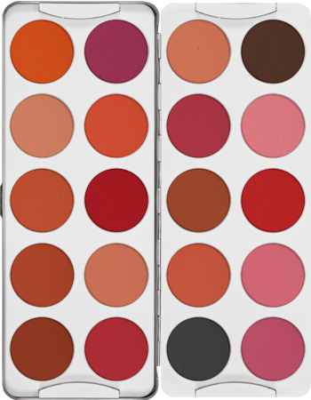 Kryolan Blusher Palette 20 Colours