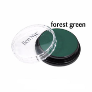 Ben Nye Creme Colors for Face and Body Painting in Forest Green