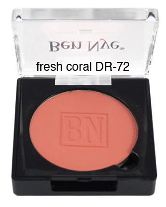 Ben Nye Dry Rouge and Contour in Fresh Coral