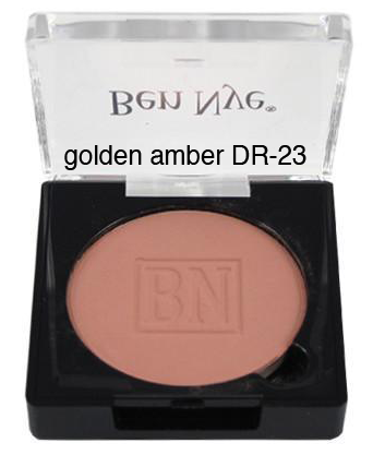 Ben Nye Dry Rouge and Contour in Golden Amber