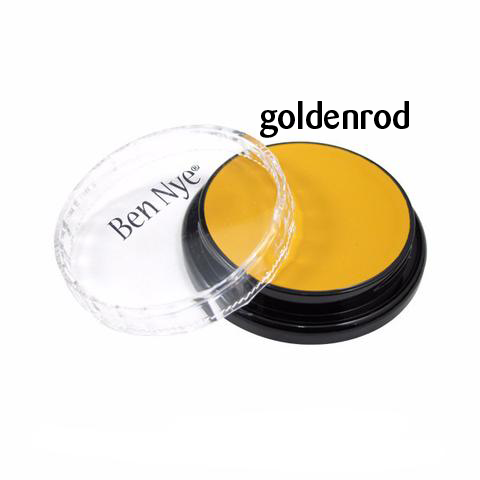 Ben Nye Creme Colors for Face and Body Painting in Goldenrod