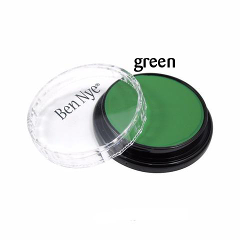 Ben Nye Creme Colors for Face and Body Painting in  Green